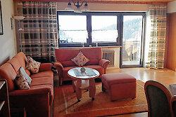 Wohnbereich mit Essecke - Fewo Englmari